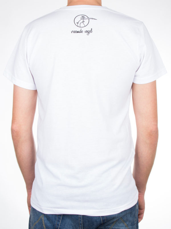 T-Shirt 'Birds And Tees' White Back