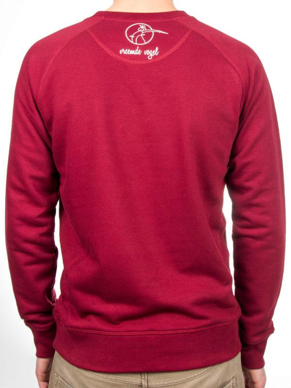 Sweater, burgundy, vlegel, hip, hipster, mode, fashion