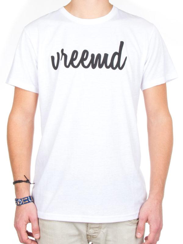 T-shirt shirt Vreemd White wit gek grappig t shirt