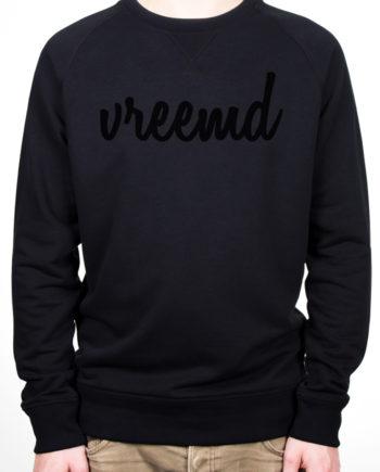 Sweater vreemd zwart hip fashion trui colourful rebel